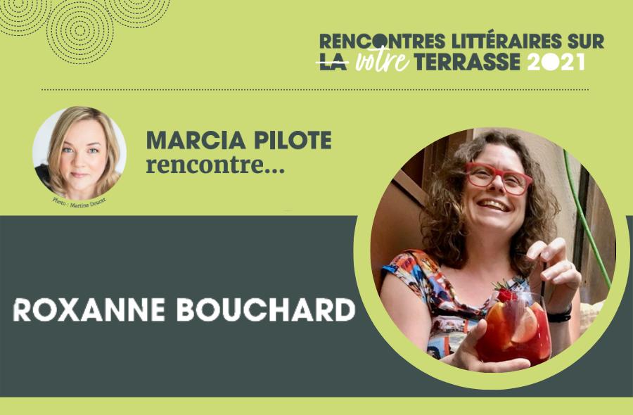 Ville de saint-Eustache - Rencontre littéraire sur votre terrasse : Roxanne Bouchard