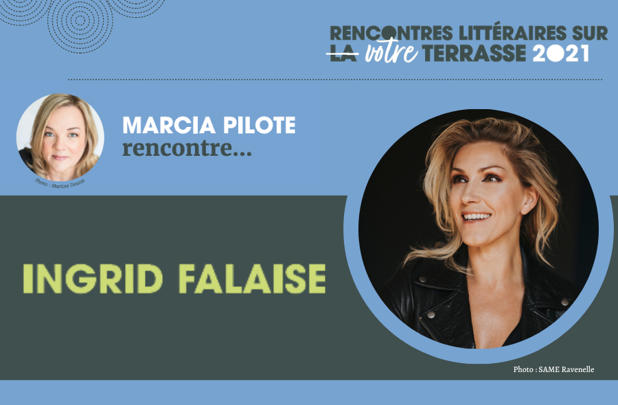 Ville de saint-Eustache - Rencontre littéraire sur votre terrasse : Ingrid Falaise