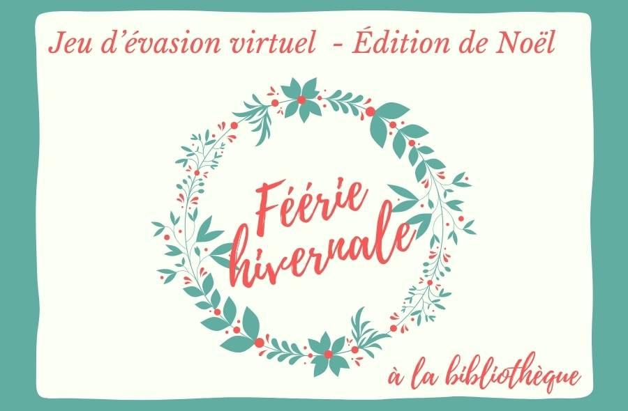 Ville de saint-Eustache - Jeu d'évasion virtuel  - Édition de Noël