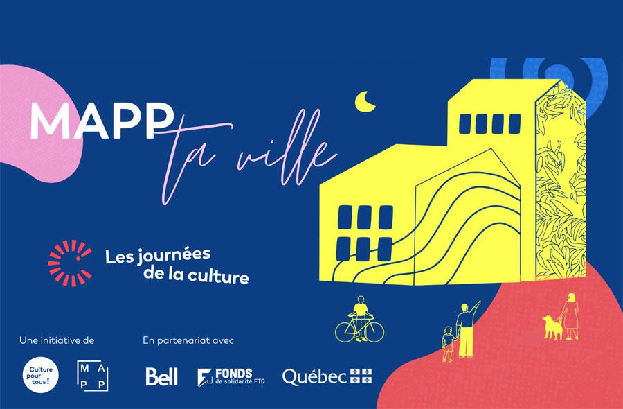 Ville de saint-Eustache - Journées de la culture 2021- Atelier de MAPPING vidéo animé