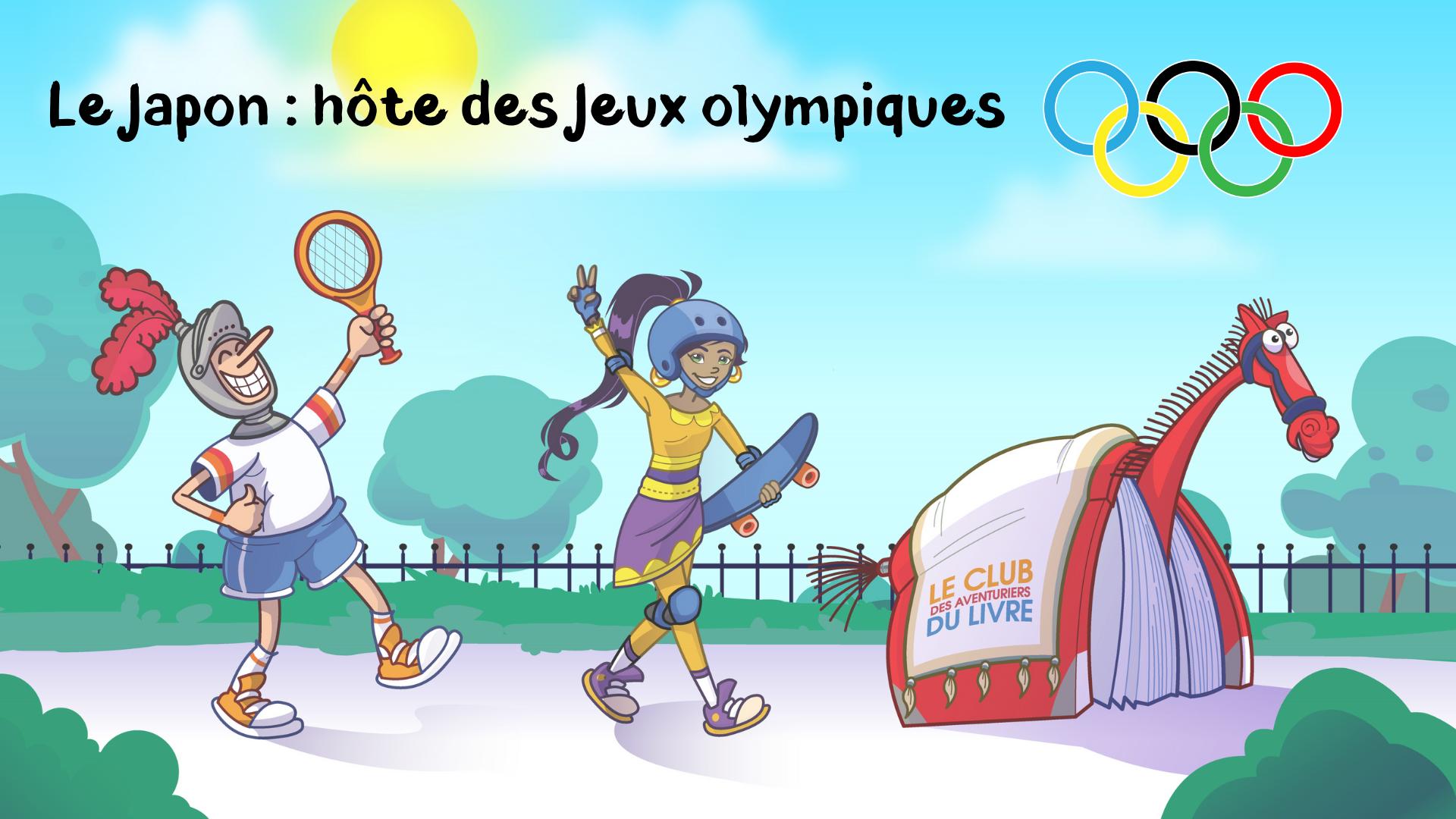Ville de saint-Eustache - Club des aventuriers du livre : le Japon, hôte des Jeux olympiques