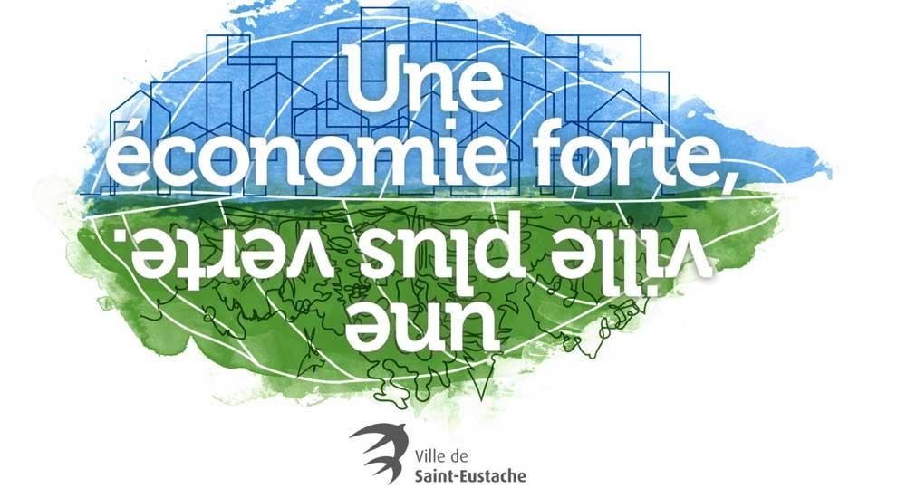 Ville de saint-Eustache - Budget 2019 à Saint-Eustache : une économie plus forte, une ville plus verte