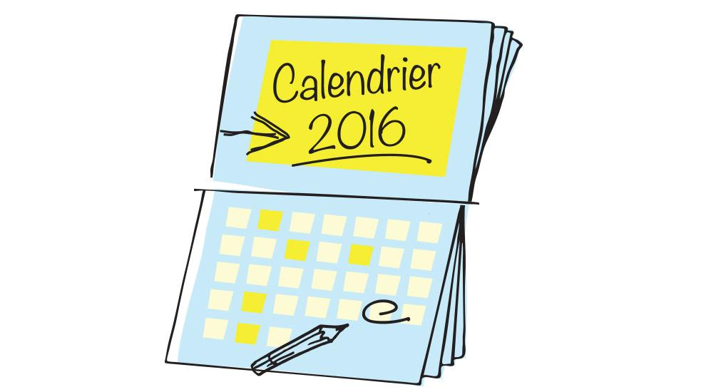Ville de saint-Eustache - Le calendrier 2016 sera distribué à la mi-décembre