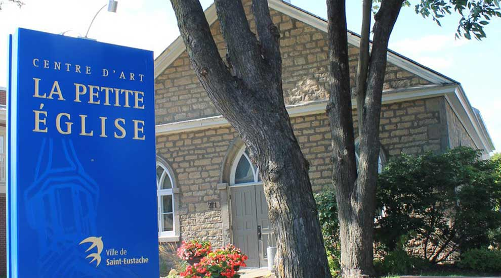 Ville de saint-Eustache - Réouverture du Centre d'art La petite église : toute une programmation!