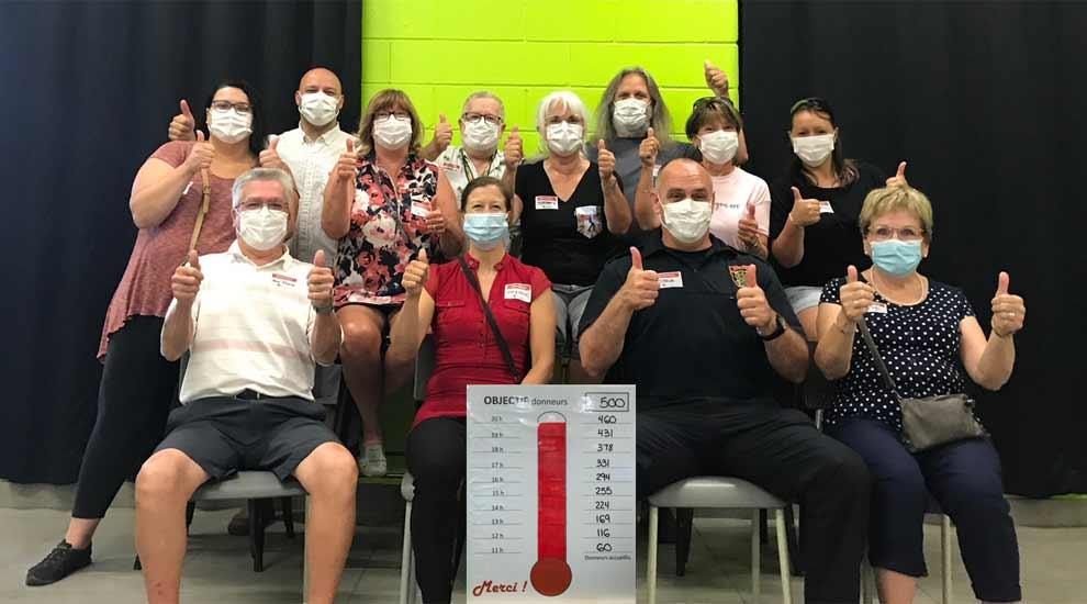 Ville de saint-Eustache - Collecte de sang de la Ville de Saint-Eustache : Merci aux généreux donneurs!