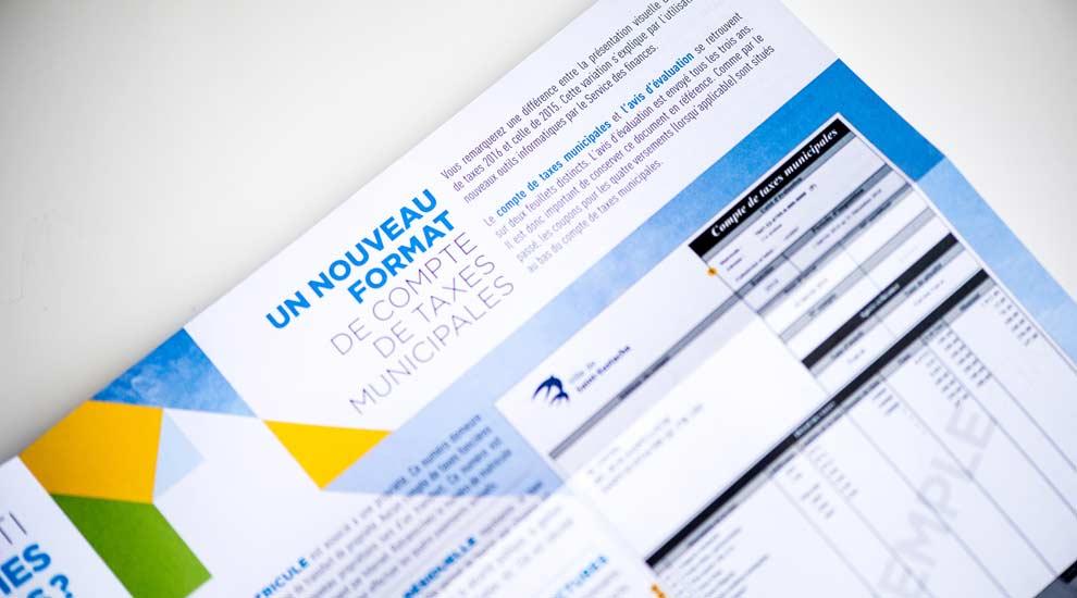 Ville de saint-Eustache - Taxes municipales : dernier versement dû le 12 octobre 2016