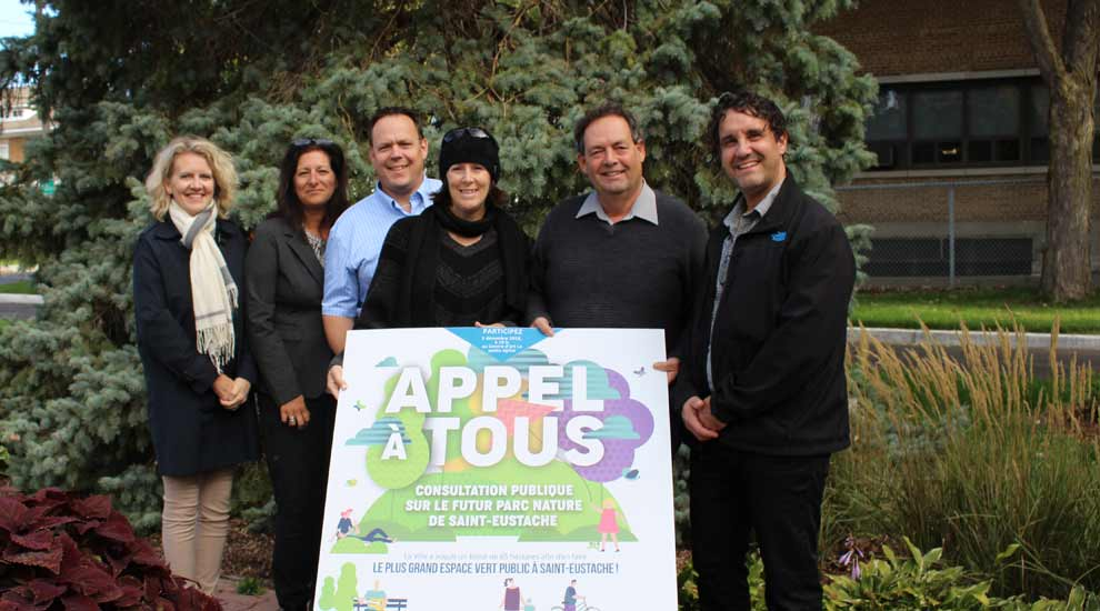 Soirée de consultation publique : les Eustachois invités à s'exprimer sur la vocation du parc nature