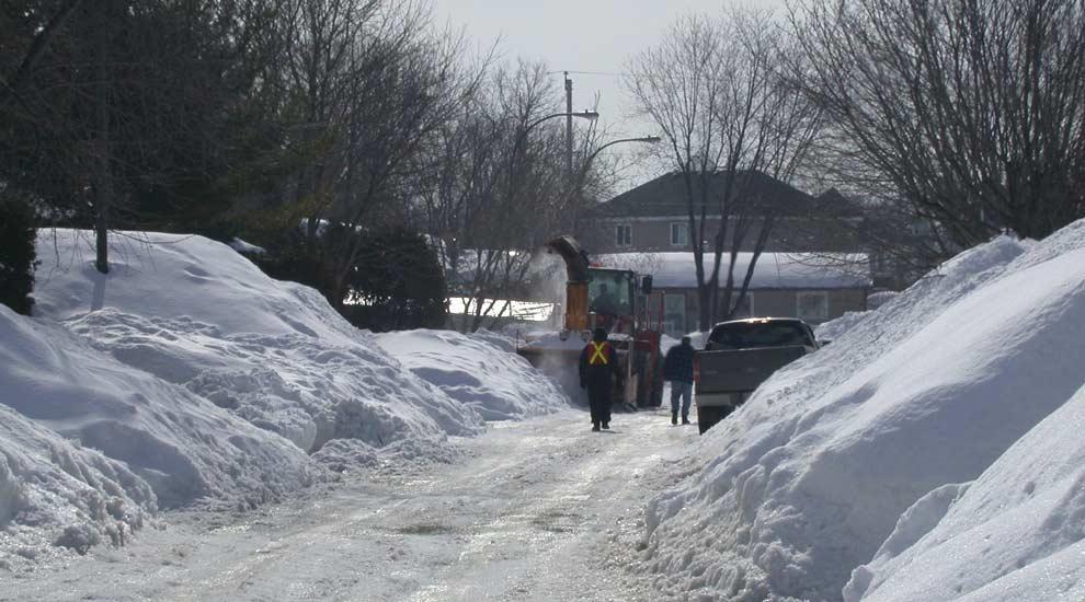 Ville de saint-Eustache - Consignes importantes sur la disposition des bacs roulants l'hiver