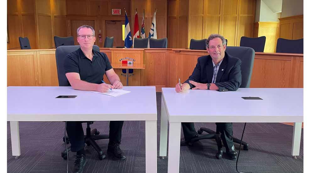 Ville de saint-Eustache - Domrex Pharma poursuit sa croissance dans l'Innoparc Albatros