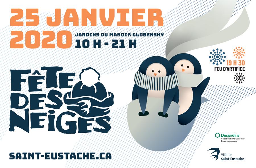 Ville de saint-Eustache - Fête des neiges 2020