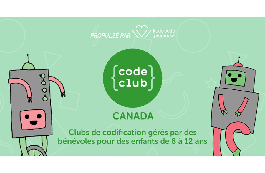 Ville de saint-Eustache - Webinaire pour enfants - Scratch (module 1) par le Code Club