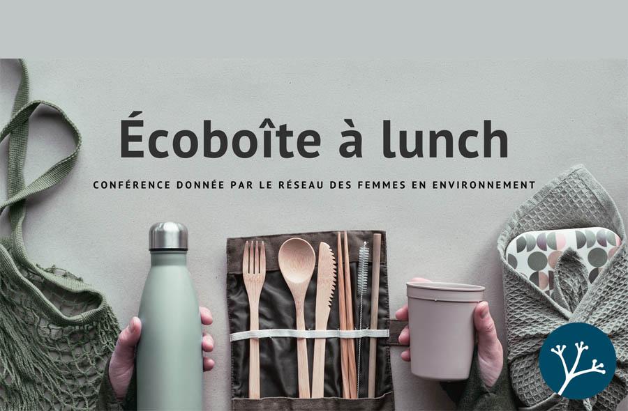 Ville de saint-Eustache - Conférence en ligne Écoboîte à lunch - ANNULÉ
