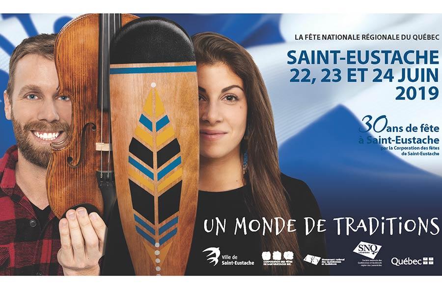 Ville de saint-Eustache - Fête nationale du Québec 2019