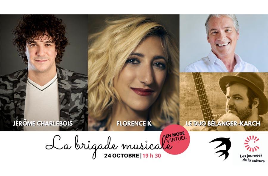 Ville de saint-Eustache - La Brigade musicale en mode virtuel