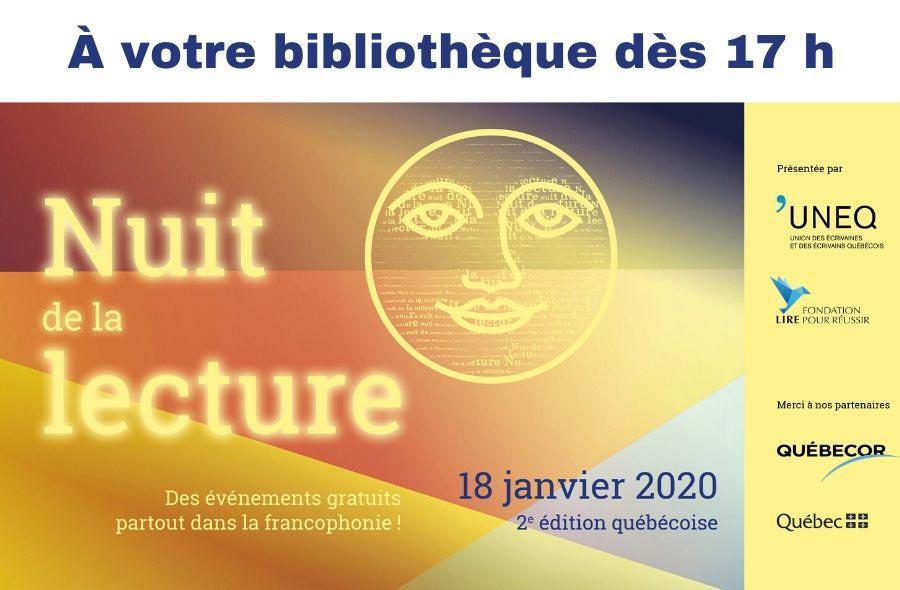 Ville de saint-Eustache - Nuit de la lecture