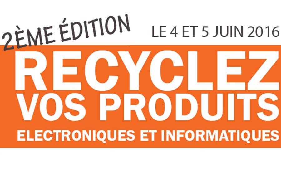 Collecte sp ciale de vieux produits lectroniques au profit de la fondation e - Collecte appareils electroniques ...