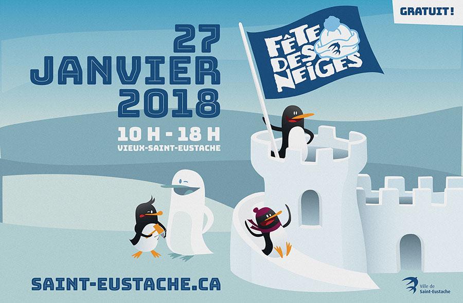 Ville de saint-Eustache - Fête des neiges 2018