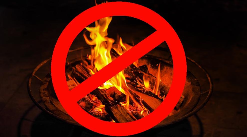Ville de saint-Eustache - Interdiction de feux à ciel ouvert jusqu'à nouvel ordre