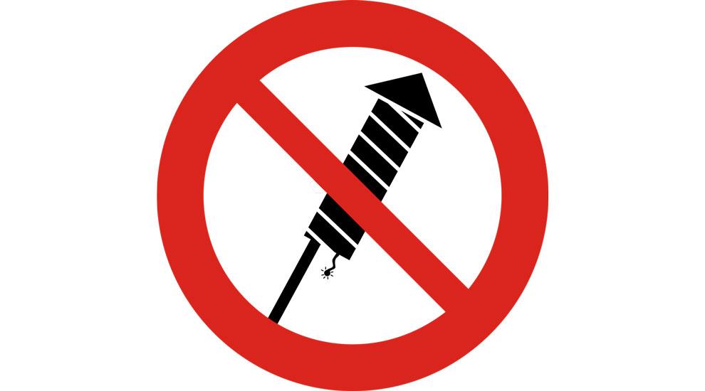 Ville de saint-Eustache - Feux d'artifice : interdiction à Saint-Eustache