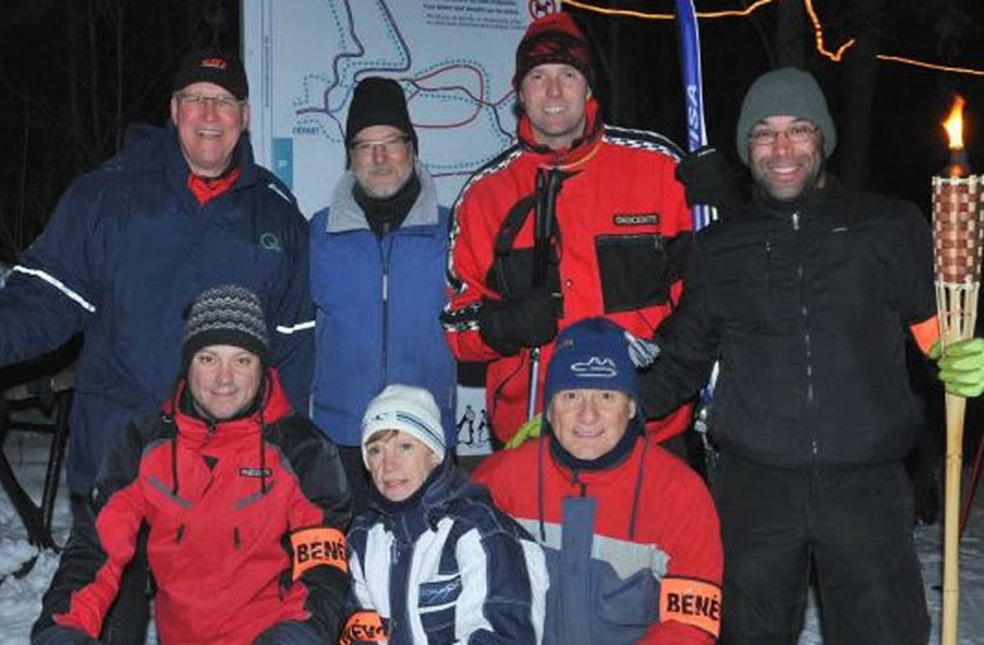 Ville de saint-Eustache - Soirée aux flambeaux au sentier de ski de fond et raquette Richard-Giroux : 10 février 2018