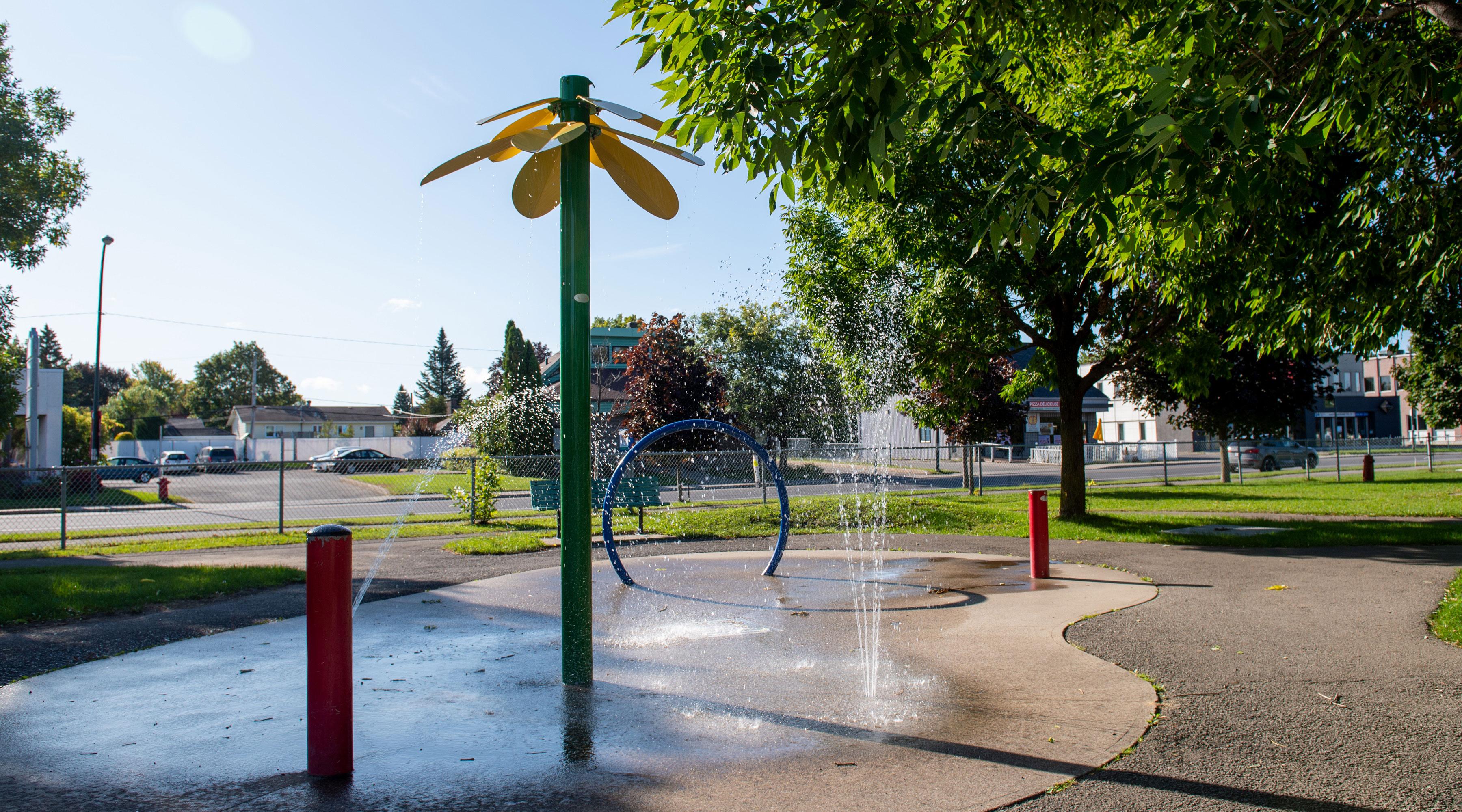 Ville de saint-Eustache - Fermeture des jeux d'eau dans les parcs à compter du 27 septembre 2021