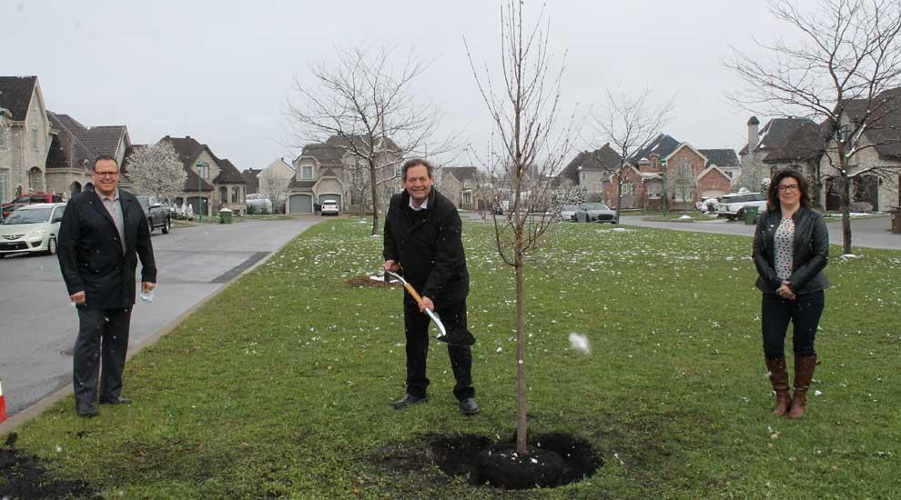 Jour de la Terre 2021 : 500 nouveaux arbres pour verdir Saint-Eustache!
