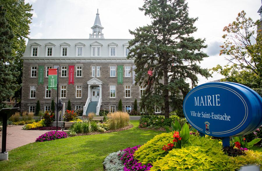 Ville de saint-Eustache - Séance du conseil municipal du 4 octobre 2021