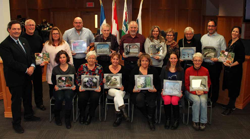 Les gagnants du concours de photographies du calendrier municipal 2020 sont dévoilés