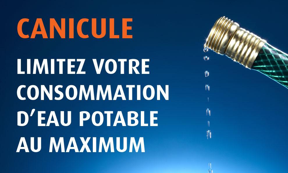 Ville de saint-Eustache - Eau potable : nous demandons la collaboration des citoyens afin de réduire leur utilisation de l'eau à des fins essentielles