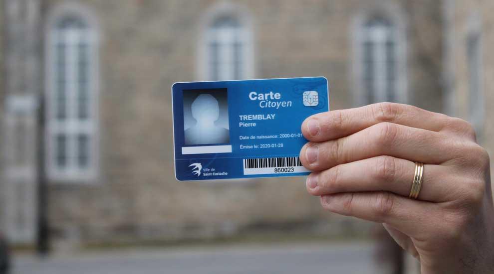 À Saint-Eustache : la Carte citoyen renouvelée automatiquement