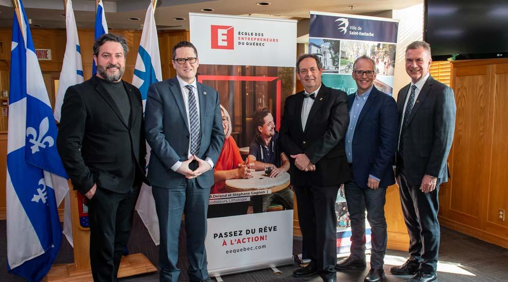 Saint-Eustache accueillera un nouveau campus régional de l'École des entrepreneurs du Québec