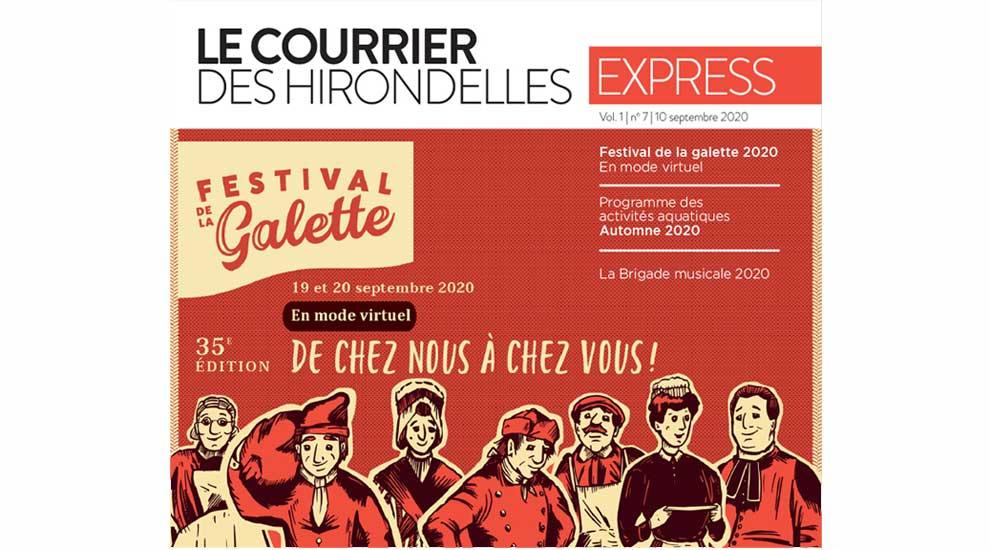 Ville de saint-Eustache - Le Courrier des hirondelles EXPRESS - Édition du 10 septembre 2020