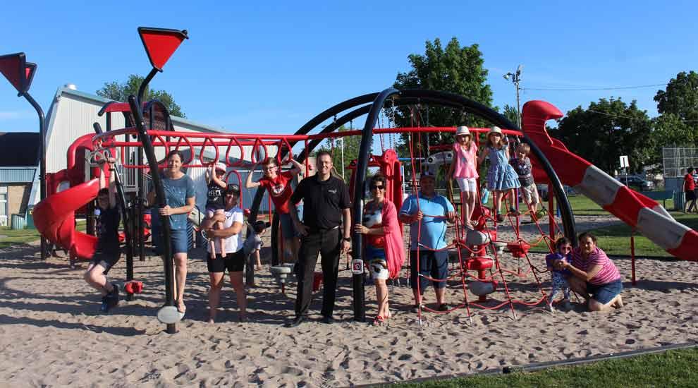 Du nouveau pour les enfants au parc Jean-Guy-Mathers