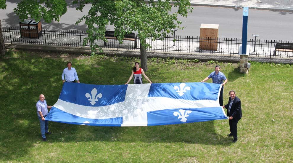 En hommage au peuple, célébrons sous la thématique « unis »! Thématique officielle de la Fête nationale du Québec