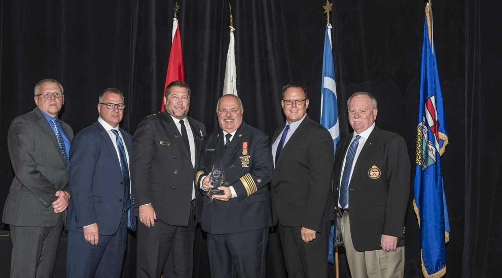 Le Service de sécurité publique de la Ville de Saint-Eustache lauréat d'un prix d'excellence en protection civile
