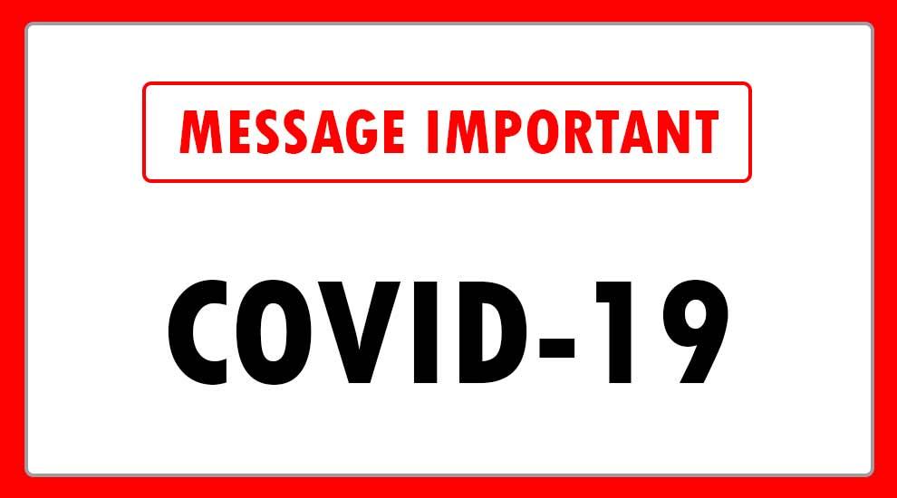 Coronavirus (Covid-19) -Les terrains et modules de jeux fermés à Saint-Eustache