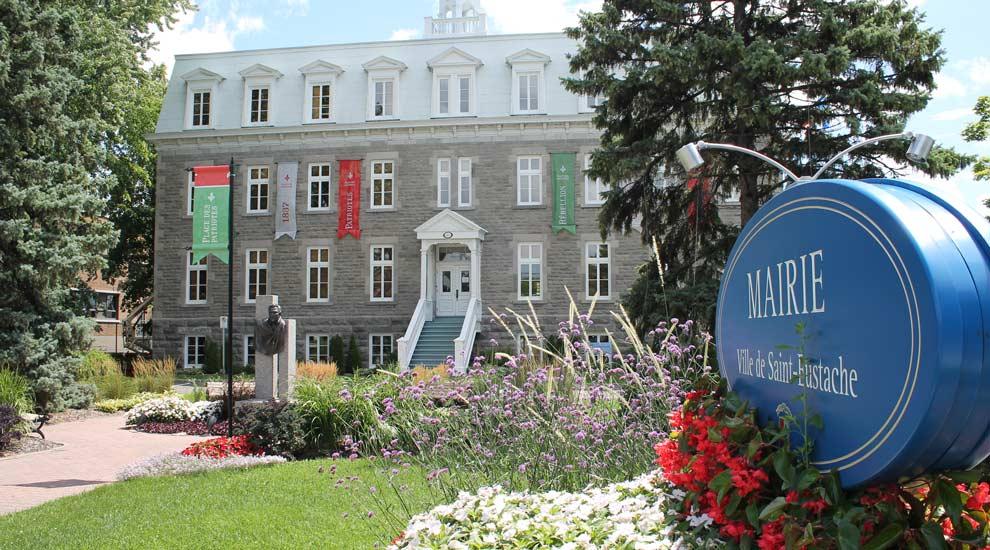 Ville de saint-Eustache - Fermeture des services municipaux - Fête nationale du Québec et fête du Canada