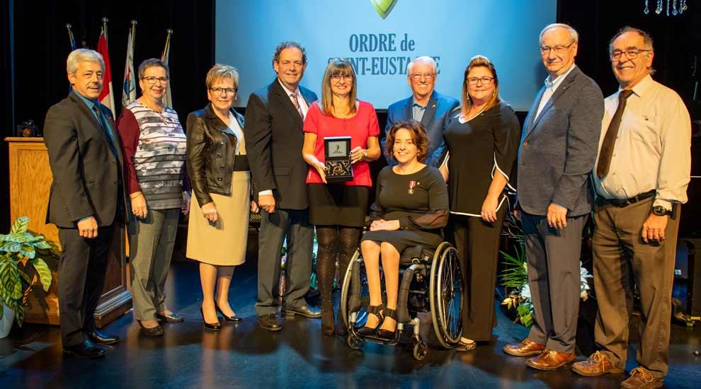 Une Grande Citoyenne nommée à l'Ordre de Saint-Eustache 2019
