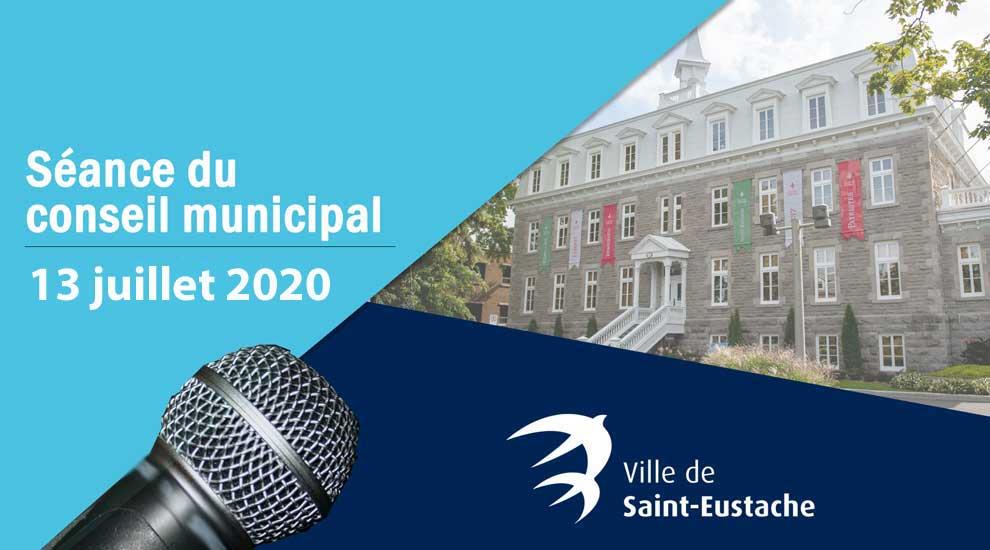 Séance du conseil municipal du 13 juillet 2020 à huis clos