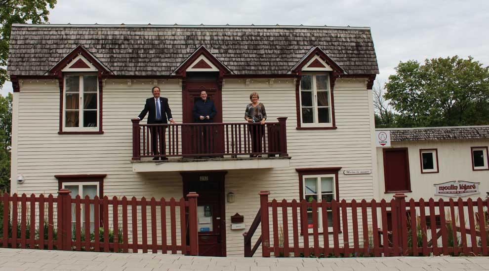 Ville de saint-Eustache - Québec accorde près de 350 000 $ pour la restauration du moulin Légaré à Saint-Eustache
