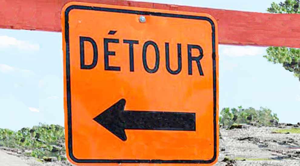 Ville de saint-Eustache - Début de travaux du ministère des Transports du Québec au pont du boulevard Industriel le 6 juillet