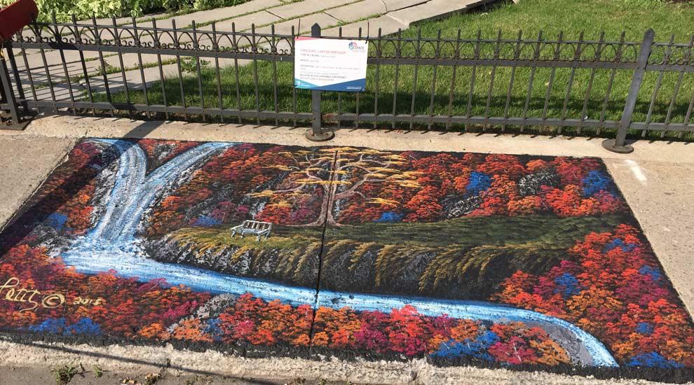 Ville de saint-Eustache - Lancement du concours d'art urbain - ''L'Art de partager''