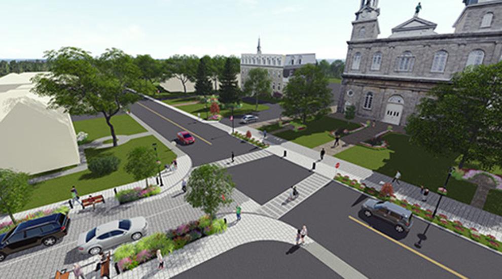 Ville de saint-Eustache - Travaux du Vieux-Saint-Eustache : début de la phase 2 sur la rue Saint-Louis dès le 26 juin