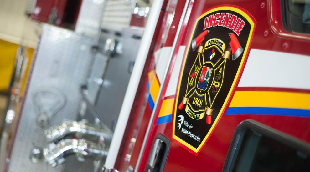 Ville de saint-Eustache - Semaine de la prévention des incendies 2015