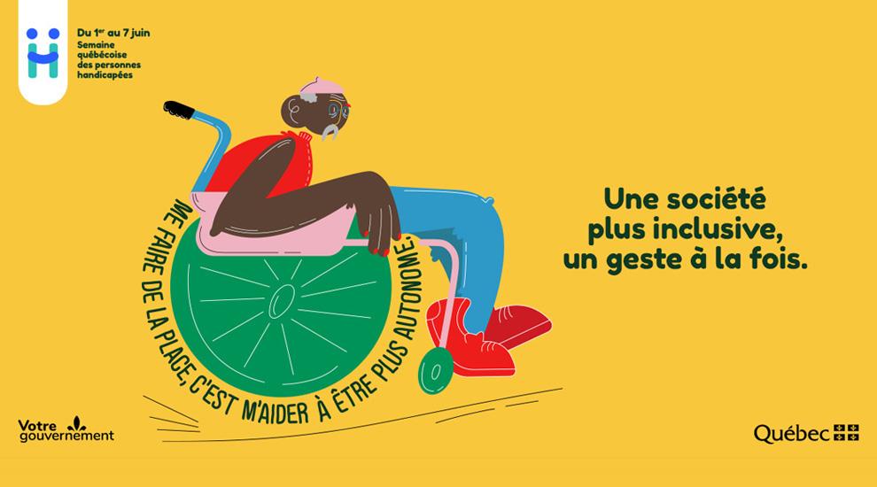 Ville de saint-Eustache - Saint-Eustache souligne la Semaine québécoise des personnes handicapées