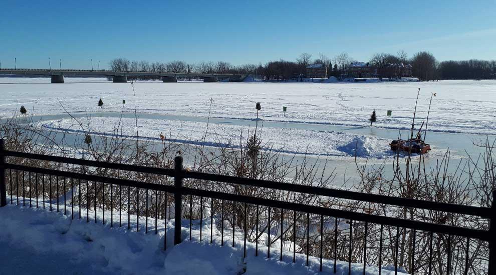 Incident sur le sentier de patin Bernard-Besner : mise au point du maire de Saint-Eustache
