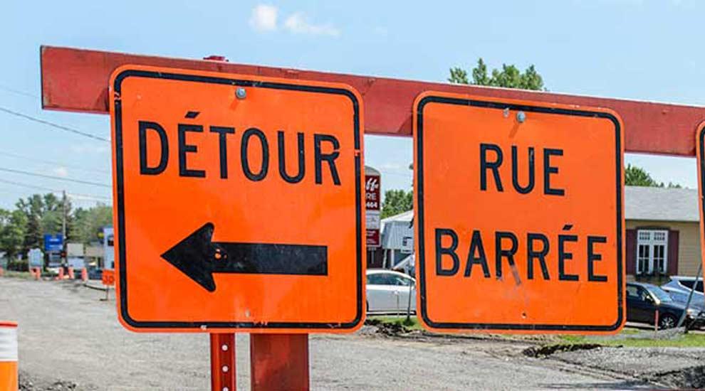 Ville de saint-Eustache - Travaux du ministère des Transports sur le pont Féré à Saint-Eustache dès le 17 juillet