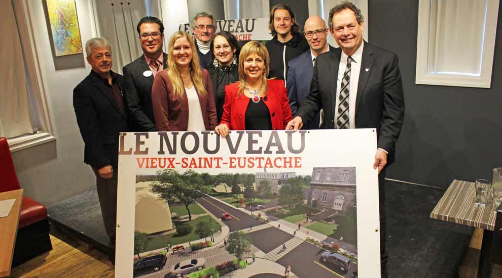 Ville de saint-Eustache - Le grand chantier de réfection du Vieux-Saint-Eustache commence ce printemps