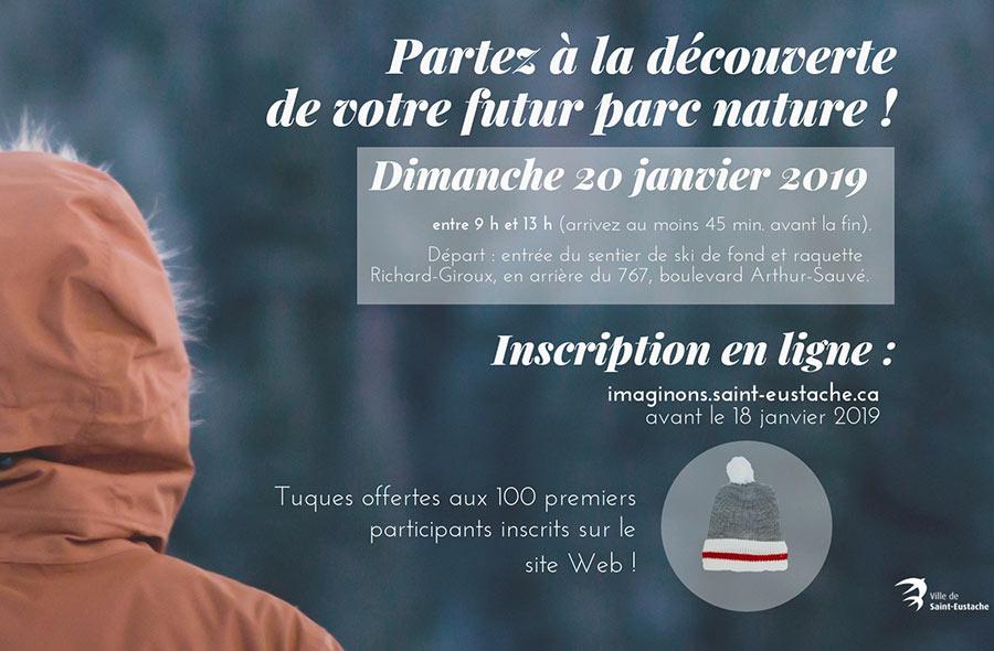 Ville de saint-Eustache - Randonnée découverte du futur parc nature
