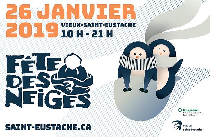 Ville de saint-Eustache - Fête des neiges 2019